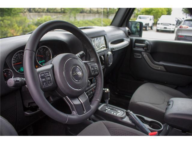 2018 Jeep Wrangler JK Unlimited Sport (Stk: J820437) in Abbotsford - Image 9 of 23