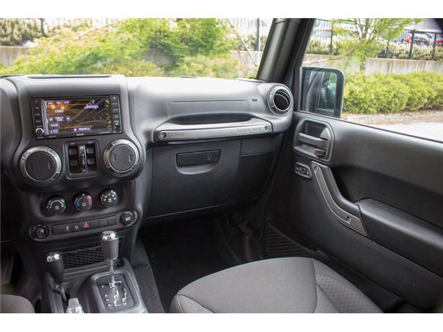 2018 Jeep Wrangler JK Unlimited Sport (Stk: J820437) in Abbotsford - Image 12 of 23