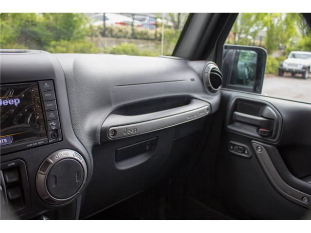 2018 Jeep Wrangler JK Unlimited Sport (Stk: J820437) in Abbotsford - Image 21 of 23