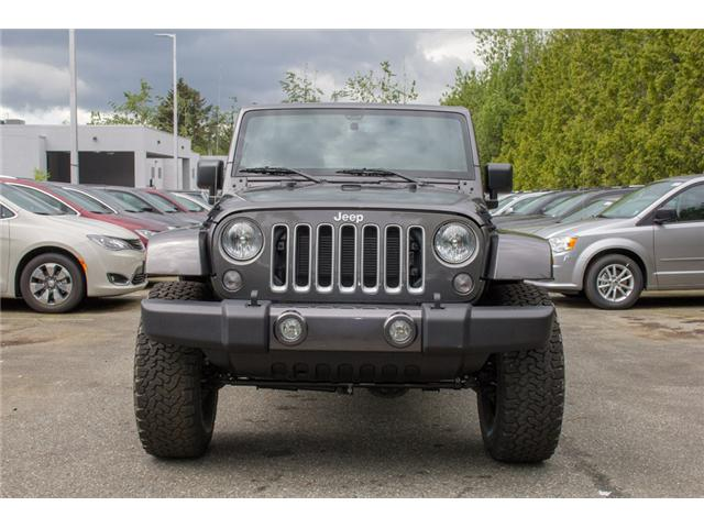 2017 Jeep Wrangler Unlimited Sahara (Stk: AG0819) in Abbotsford - Image 2 of 25