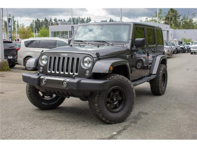2017 Jeep Wrangler Unlimited Sahara (Stk: AG0819) in Abbotsford - Image 3 of 25