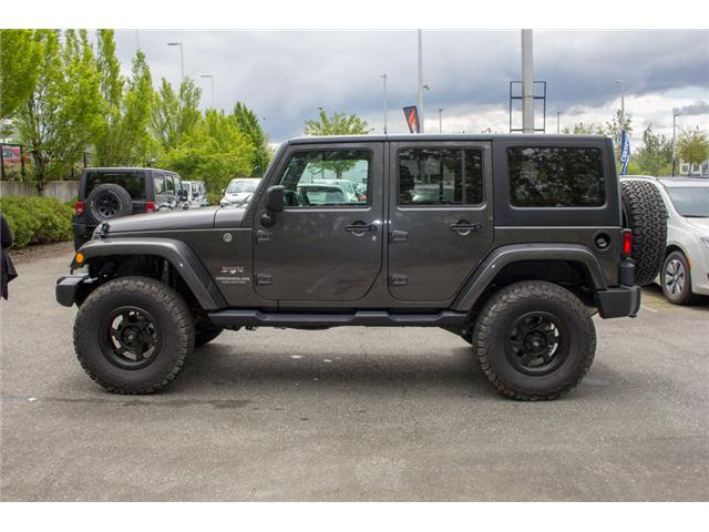 2017 Jeep Wrangler Unlimited Sahara (Stk: AG0819) in Abbotsford - Image 4 of 25