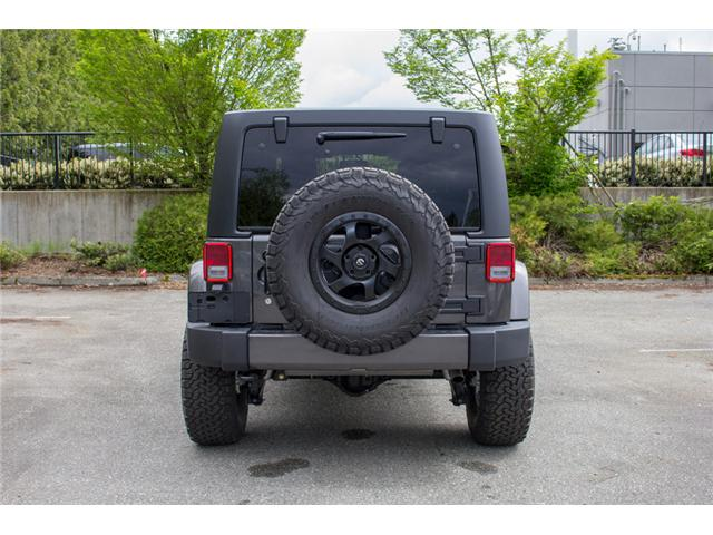 2017 Jeep Wrangler Unlimited Sahara (Stk: AG0819) in Abbotsford - Image 6 of 25