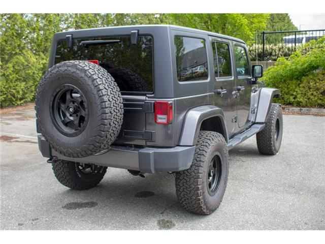 2017 Jeep Wrangler Unlimited Sahara (Stk: AG0819) in Abbotsford - Image 7 of 25