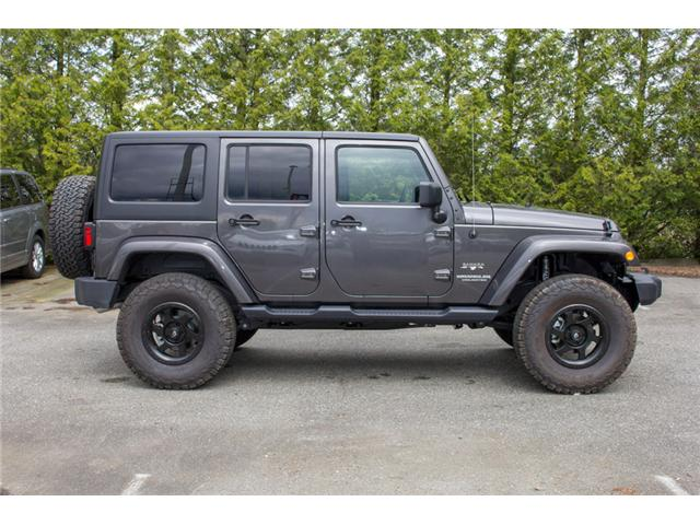 2017 Jeep Wrangler Unlimited Sahara (Stk: AG0819) in Abbotsford - Image 8 of 25