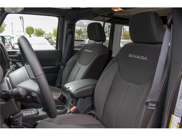 2017 Jeep Wrangler Unlimited Sahara (Stk: AG0819) in Abbotsford - Image 10 of 25