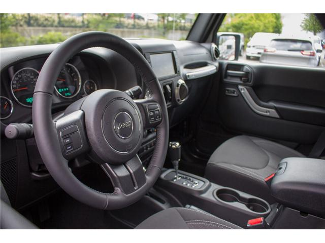 2017 Jeep Wrangler Unlimited Sahara (Stk: AG0819) in Abbotsford - Image 11 of 25