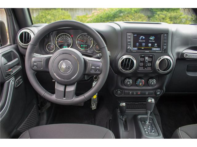 2017 Jeep Wrangler Unlimited Sahara (Stk: AG0819) in Abbotsford - Image 13 of 25