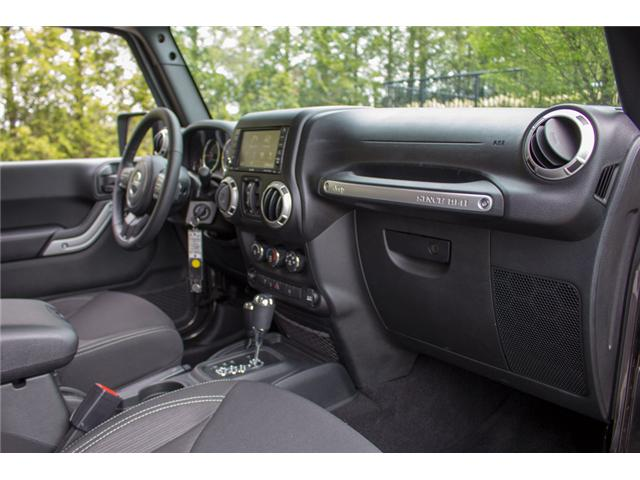 2017 Jeep Wrangler Unlimited Sahara (Stk: AG0819) in Abbotsford - Image 16 of 25