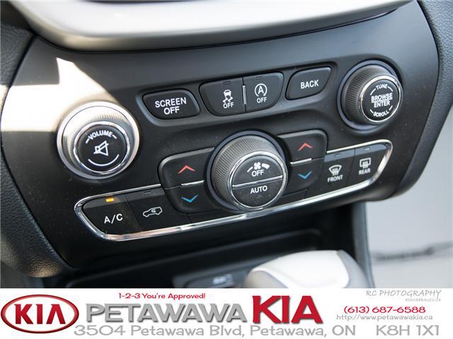 2016 Jeep Cherokee Overland (Stk: P0011) in Petawawa - Image 18 of 30