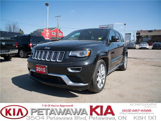 2015 Jeep Grand Cherokee Summit (Stk: P0013) in Petawawa - Image 1 of 26