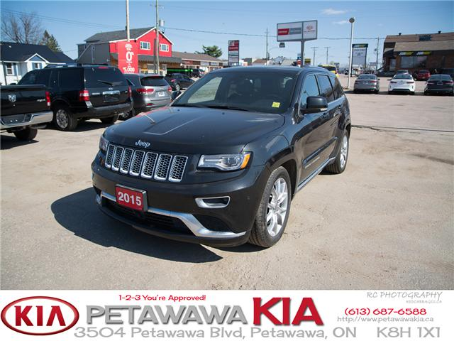 2015 Jeep Grand Cherokee Summit (Stk: P0013) in Petawawa - Image 2 of 26