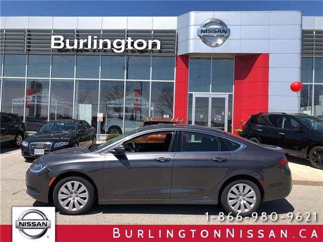 2015 Chrysler 200 LX (Stk: X6935A) in Burlington - Image 1 of 17