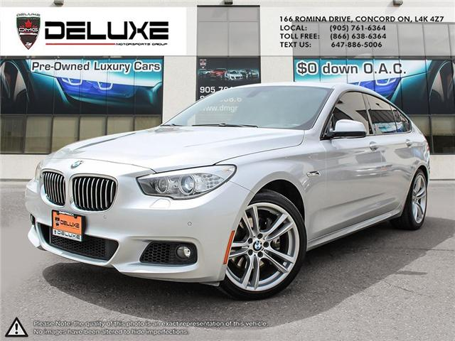 2013 BMW 535i xDrive Gran Turismo (Stk: D0383) in Concord - Image 1 of 20