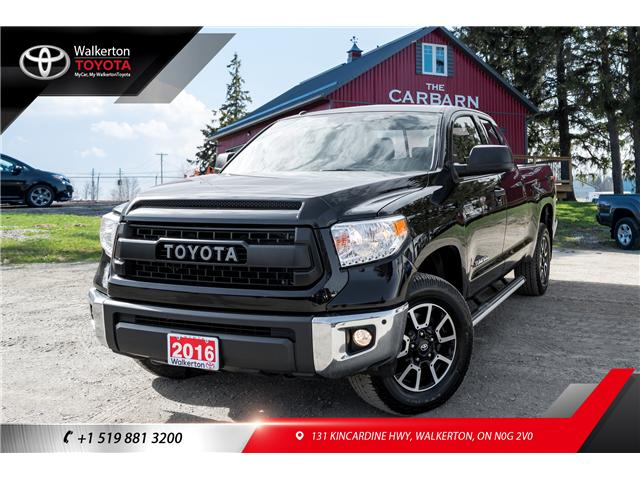 2016 Toyota Tundra SR 5.7L V8 (Stk: P8084) in Walkerton - Image 1 of 21