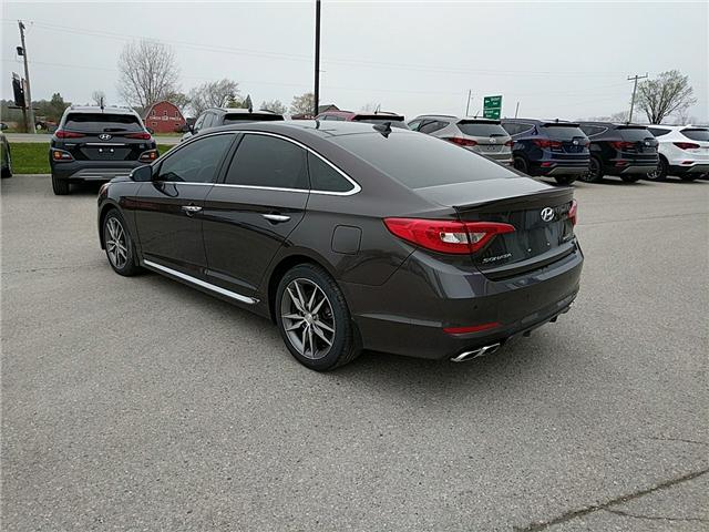 2017 Hyundai Sonata 2.0T Sport Ultimate (Stk: 70236) in Goderich - Image 2 of 7