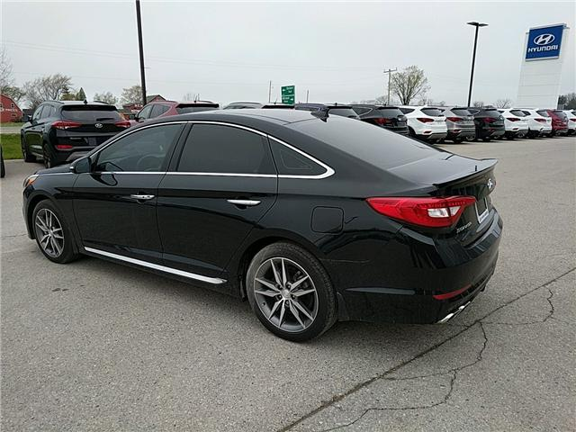 2017 Hyundai Sonata 2.0T Sport Ultimate (Stk: 70174) in Goderich - Image 2 of 7