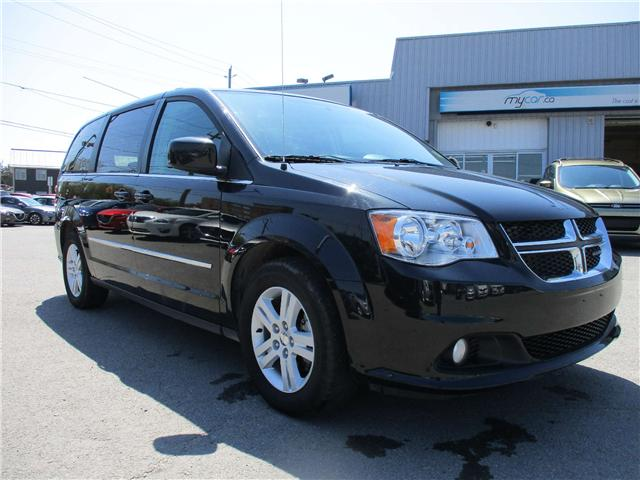 2017 Dodge Grand Caravan Crew (Stk: 180548) in Kingston - Image 1 of 14
