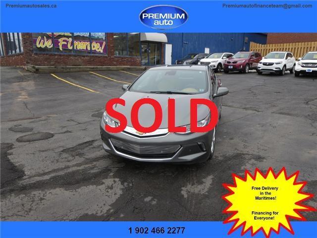 2017 Chevrolet Volt Premier (Stk: 101145) in Dartmouth - Image 1 of 29