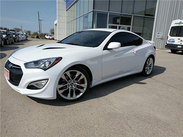 2015 Hyundai Genesis Coupe 3.8 R-Spec (Stk: 80054A) in Goderich - Image 2 of 18