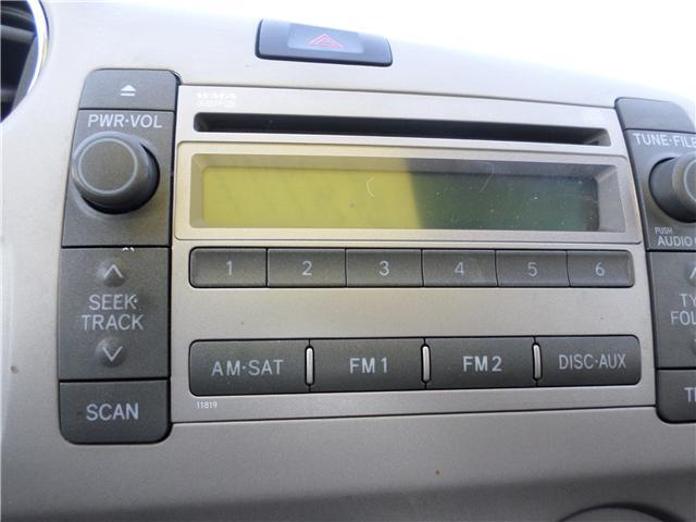 2010 Toyota Matrix Base (Stk: 6887) in Moose Jaw - Image 12 of 16