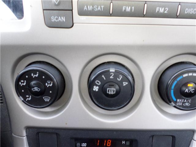 2010 Toyota Matrix Base (Stk: 6887) in Moose Jaw - Image 13 of 16