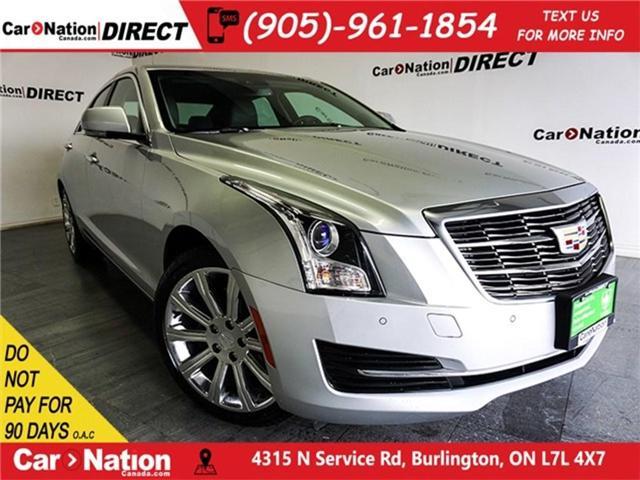 2018 Cadillac ATS 2.0L Turbo Luxury (Stk: DOM-115334) in Burlington - Image 1 of 30