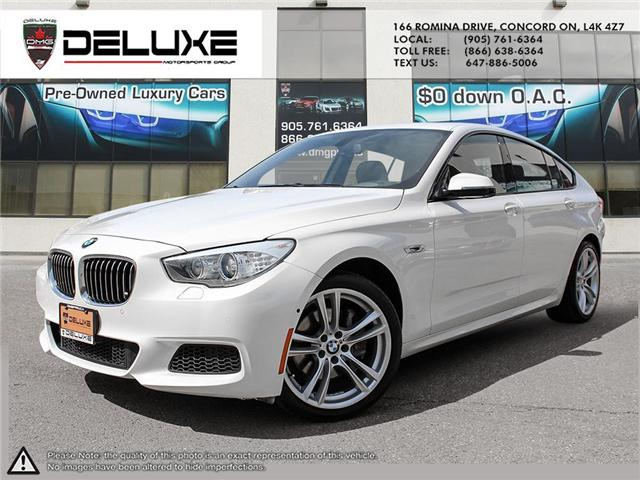 2014 BMW 535i xDrive Gran Turismo (Stk: D0372) in Concord - Image 1 of 21