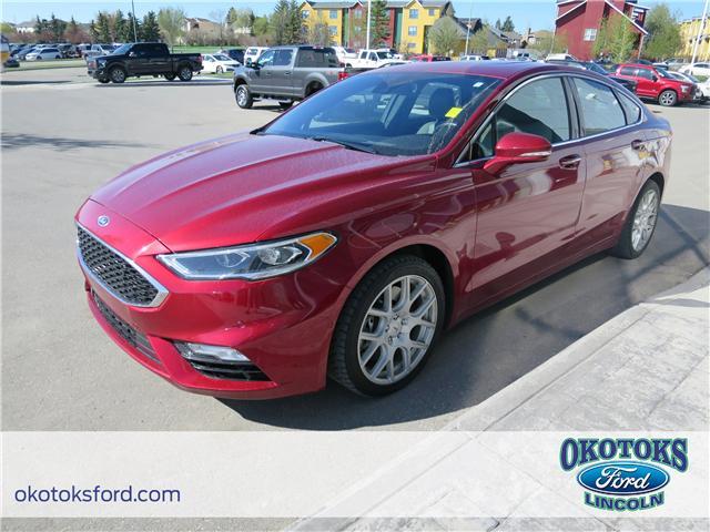 2017 Ford Fusion V6 Sport (Stk: JK-92A) in Okotoks - Image 1 of 22