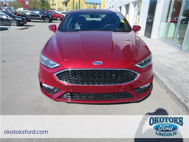2017 Ford Fusion V6 Sport (Stk: JK-92A) in Okotoks - Image 2 of 22