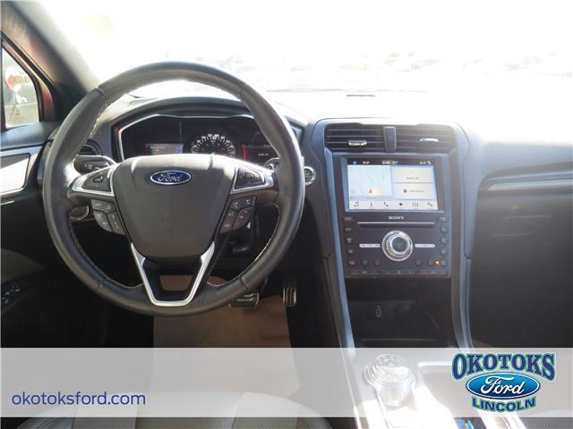 2017 Ford Fusion V6 Sport (Stk: JK-92A) in Okotoks - Image 8 of 22