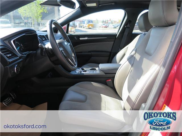 2017 Ford Fusion V6 Sport (Stk: JK-92A) in Okotoks - Image 9 of 22