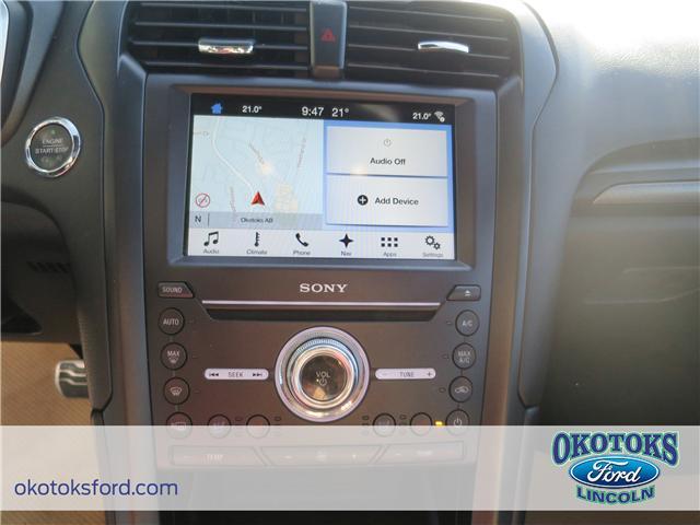 2017 Ford Fusion V6 Sport (Stk: JK-92A) in Okotoks - Image 13 of 22