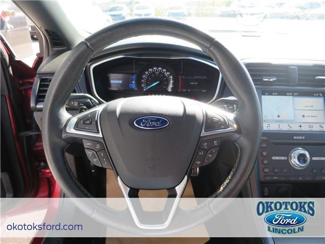 2017 Ford Fusion V6 Sport (Stk: JK-92A) in Okotoks - Image 16 of 22