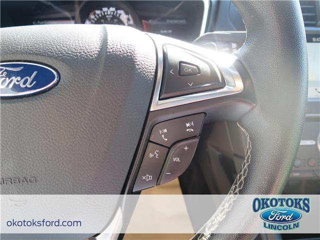 2017 Ford Fusion V6 Sport (Stk: JK-92A) in Okotoks - Image 17 of 22