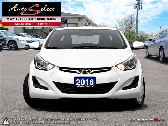 2016 Hyundai Elantra  (Stk: 16EHL321) in Scarborough - Image 2 of 27