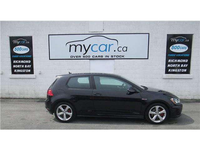 2015 Volkswagen Golf GTI 3-Door (Stk: 180583) in North Bay - Image 1 of 13