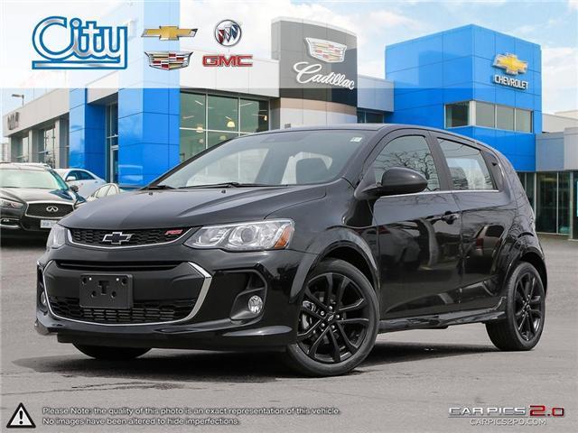 2018 Chevrolet Sonic Premier Auto (Stk: 2819976) in Toronto - Image 1 of 27