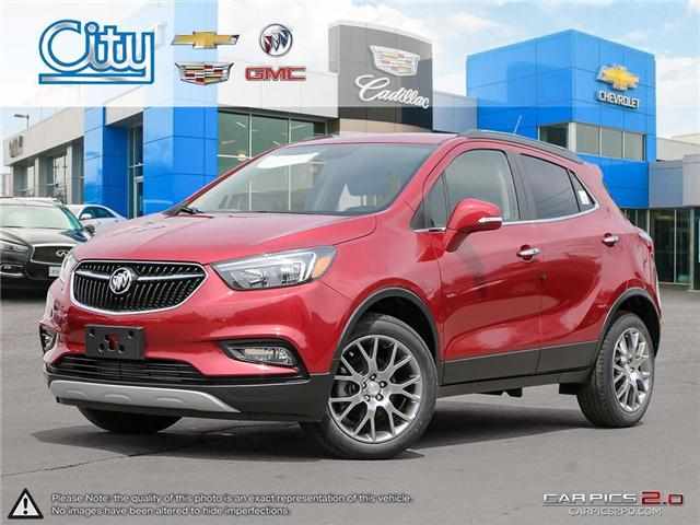2018 Buick Encore Sport Touring (Stk: 2832367) in Toronto - Image 1 of 27