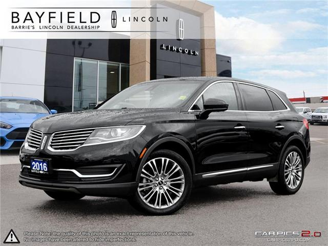 2016 Lincoln MKX Reserve (Stk: LX18745A) in Barrie - Image 1 of 27