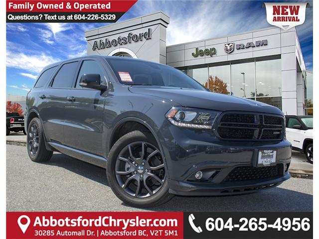 2017 Dodge Durango R/T (Stk: AB0725) in Abbotsford - Image 1 of 28
