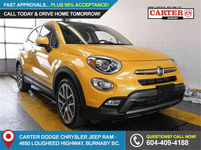 2017 Fiat 500X Trekking (Stk: X-5876-0) in Burnaby - Image 1 of 22