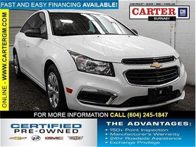 2016 Chevrolet Cruze Limited 2LS (Stk: P9-53420) in Burnaby - Image 1 of 23