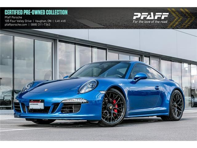 2015 Porsche 911 Carrera 4 GTS Coupe PDK (Stk: P12665A) in Vaughan - Image 1 of 9