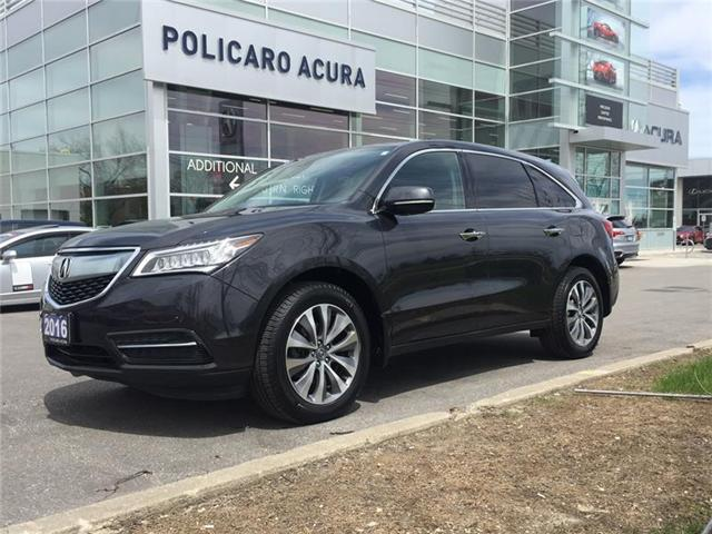 2016 Acura MDX Technology Package (Stk: 502718P) in Brampton - Image 1 of 3