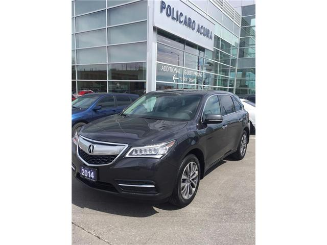 2014 Acura MDX Technology Package (Stk: 503523P) in Brampton - Image 1 of 3