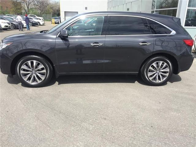 2014 Acura MDX Technology Package (Stk: 503523P) in Brampton - Image 2 of 3