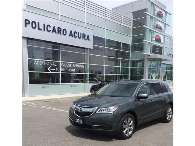 2015 Acura MDX Elite Package (Stk: 504703T) in Brampton - Image 1 of 3