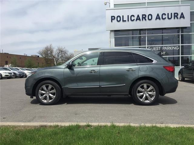2015 Acura MDX Elite Package (Stk: 504703T) in Brampton - Image 2 of 3