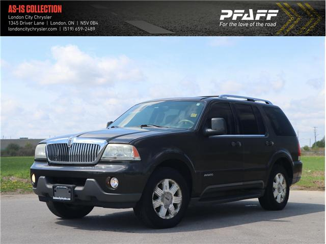 2005 Lincoln Aviator Luxury (Stk: U8450E) in London - Image 1 of 21